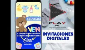 Invitacion Digital Baby Shower Gael